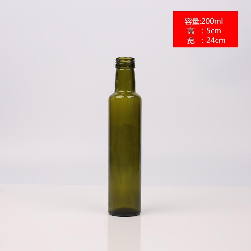 圆橄榄油瓶